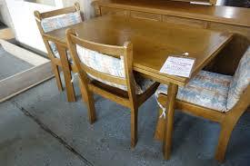 Esszimmer Set Gebraucht 4 Esszimmerstühle Gebraucht Design