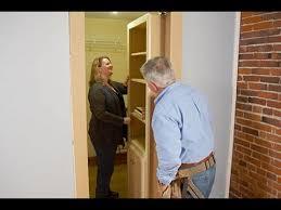 How To Make A Secret Bookcase Door How To Install A Hidden Door Bookshelf Youtube