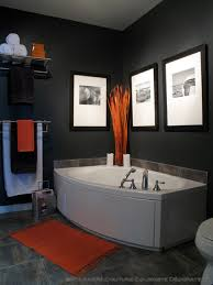 orange bathroom ideas the best 100 orange and grey bathroom accessories image collections