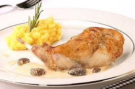 cuisiner le lapin en sauce cuisse de lapin et sauce aux morilles recherche de recette v zug