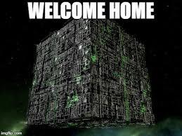 Welcome Home Meme - the grammar borg memes imgflip