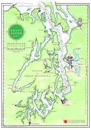 Desolation Sound Map Dreamspeaker Guides Discover Puget Sound U0027s Boating Destinations