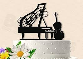 piano cake topper beautiful piano with cello cake topper handmade