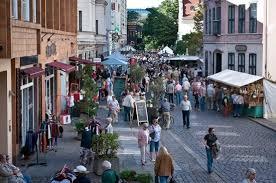 shopping nicholas quarter nikolaiviertel berlin germany