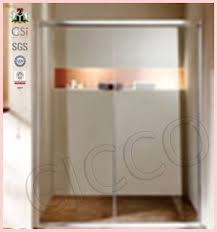 china best price curved glass shower door suppliers and
