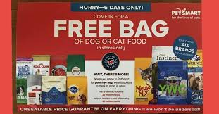black friday 2017 petsmart petsmart u2013 free bag of dog food u201cany brand u201d up to 50 00 value