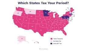 States With No Income Tax Map by Petition U S State Legislators Stop Taxing Our Periods Period