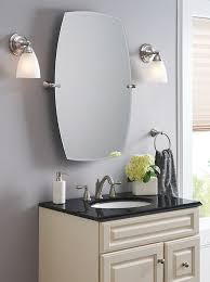 Design Ideas For Brushed Nickel Bathroom Mirror Peachy Design Ideas Moen Bathroom Mirrors 92 Best Images On