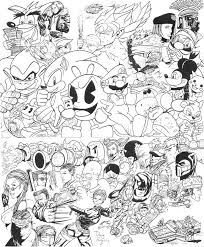 drawing video game characters video game character birthday card