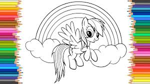 my little pony coloring page l coloring markers videos for