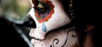 day of the dead diy sugar skull halloween look with rick baker