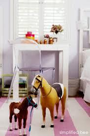american doll horse girls room simplified bee