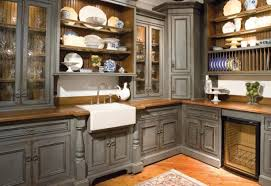 decor infatuate rustic kitchen with brown cabinets exquisite