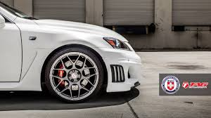 lexus isf tires size white bison lexus is f on hre p40sc and wald black bison kit