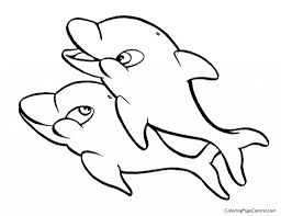 dolphin 01 coloring page coloring page central