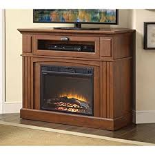 Faux Fireplace Tv Stand - amazon com media fireplace tv stand combo for televisions up to