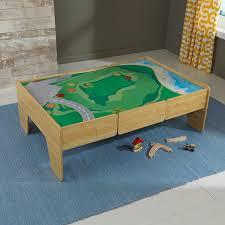 amazon com kidkraft wooden play table train table toys u0026 games