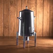 coffee urn rental polished chrome coffee urn 100 cup rental peerless events