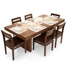 six seater dining table jordan barcelona 6 seater dining table set thearmchair