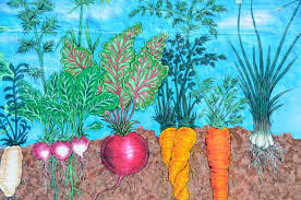 mural of garden vegetables free stock photo public domain pictures
