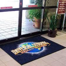 tapis de bureau personnalisé sol en caoutchouc tapis commercial personnalisé bureau porte