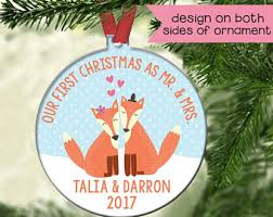 groom fox ornament etsy