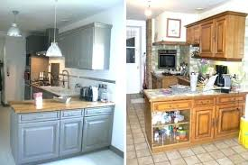 renovation cuisine chene renovation cuisine rustique ou affordable cuisine en renovation