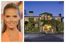 heidi klum home for sale celebrity homes for sale