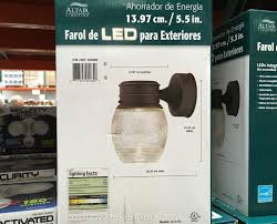 Costco Led Outdoor Lights Altair Lighting Al 2152 Outdoor Led Lantern Costco Weekender