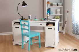 south shore craft table south shore artwork craft table with storage pure white ebay