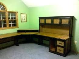 Black Corner Computer Desk With Hutch Black Corner Computer Desks Furniture L Shaped Desk With Hutch
