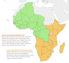Gambia Africa Map by Gms Clients Grant Management Solutions