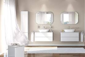 wandfarben badezimmer wohnen mit farbe zartes beige und weiß wirken edel und fein