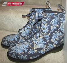 womens boots in size 13 dr martens beckett blue jouy floral boots size 13 14 uk