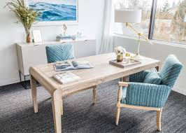 Coco Kelley Emerald Studio Design Project A Classic Blue Office Makeover