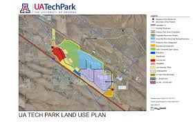 University Of Arizona Map Planning U0026 Development Tech Parks Arizona