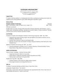 exle basic resume basic resume outline simple shalomhouse us