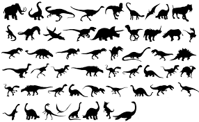 free silhouette images free dinosaur silhouette clipart clipartxtras