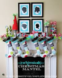 decorations mantel christmas decorating ideas for small living