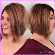 flattering hairstyles for overweight women plus size hairstyles double chin archives stylesstar com