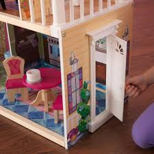 modern dollhouse kitchen kidkraft my dreamy dollhouse with 14 accessories included