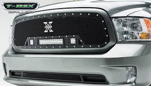 t rex dodge ram 1500 torch series led light grille single 2 3