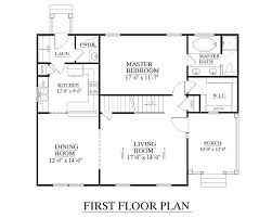 First Floor Master House Plans Southern Heritage Home Designs House Plan 1647 A The Dunbar A