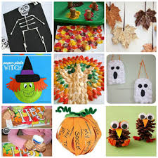 fall and halloween crafts for kids mama momtourage