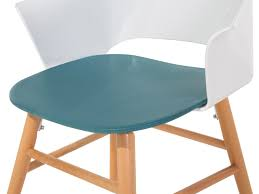 chair blue white dining room chair garden chair