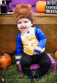 adorable beast halloween costume for baby boy