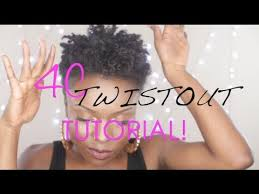 mid length tapered 4c hair 4c defined twist out tutorial tapered twa youtube