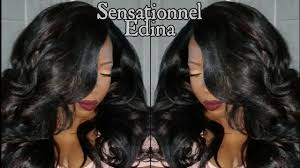 sensationnel edina blackhairspray youtube