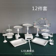 wedding cake holder wedding cake stand cupcake tray set cake holder set for party