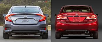 honda civic 2005 modified 2016 honda civic 10th gen vs 2015 civic 9th gen comparison